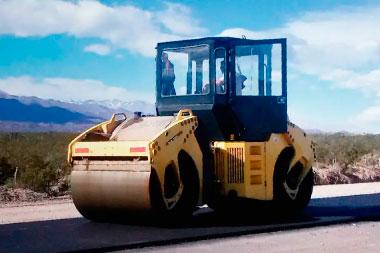 compactadora de asfalto aplanadora
